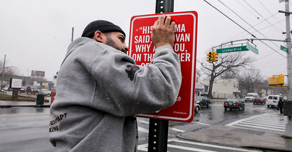 Rap Quotes: Artist Posts Street Signs At Places Referenced In Famous Lyrics
