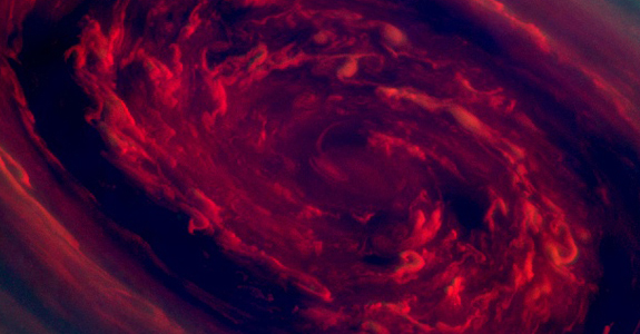 Amazing Images Of Saturn&#8217;s Giant Hurricane Vortex: 20x Bigger Than Average Earth Hurricane